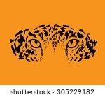leopard  jaguar | Shutterstock .eps vector #305229182
