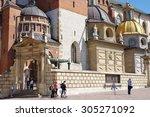 Wawel  Krakow  Poland  July 28  ...