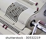 Vintage Mechanical Calculator ...
