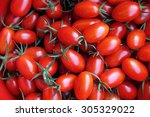 Red Tomatoes Background  Group...