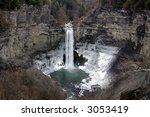 taughannock falls in upstate... | Shutterstock . vector #3053419