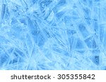 Blue Ice Abstract Natural...