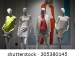 fashion concept. photo four... | Shutterstock . vector #305380145