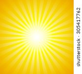 shiny summer lights  starburst  ... | Shutterstock .eps vector #305417762