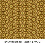 abstract geometric colorful... | Shutterstock .eps vector #305417972