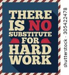 american labor day quotes  quot ... | Shutterstock .eps vector #305422478
