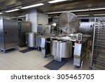 professional kitchen in a... | Shutterstock . vector #305465705