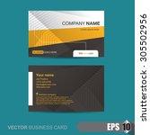 vector illustration  business... | Shutterstock .eps vector #305502956