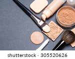 close up of corrector  open... | Shutterstock . vector #305520626