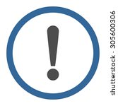 exclamation sign vector icon....   Shutterstock .eps vector #305600306