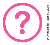 Question Raster Icon. This...