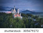 neuschwanstein castle  germany. ... | Shutterstock . vector #305679272