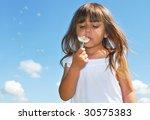 i and my dandelion | Shutterstock . vector #30575383