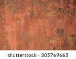 rusty metal   rusty and... | Shutterstock . vector #305769665