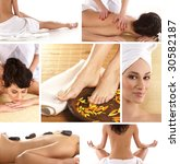 attractive lady getting spa... | Shutterstock . vector #30582187