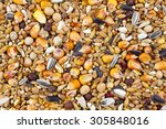 Mixed Bird Seed Close Up