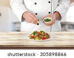 chef. | Shutterstock . vector #305898866
