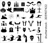 Collection Of 36 Halloween...