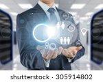 business. | Shutterstock . vector #305914802