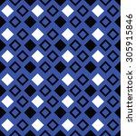 geometric diamond seamless... | Shutterstock .eps vector #305915846