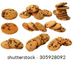 collection of delicious... | Shutterstock . vector #305928092