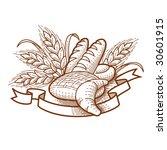 bread | Shutterstock .eps vector #30601915