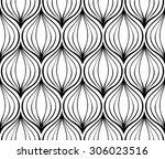 abstract vector ornament.... | Shutterstock .eps vector #306023516