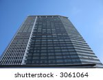 looking up at modern office... | Shutterstock . vector #3061064