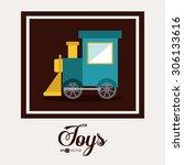 toys digital design  vector... | Shutterstock .eps vector #306133616