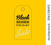 black friday sale   graphic... | Shutterstock . vector #306158492