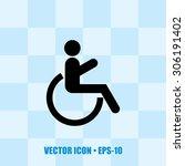 Very Useful Icon Of Wheel Chai...