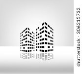 building two | Shutterstock .eps vector #306215732