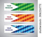 vector paper progress... | Shutterstock .eps vector #306226772