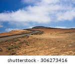 the road to the top of the...   Shutterstock . vector #306273416
