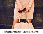 Close Up Fashion Details  Young ...