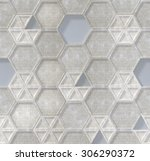 3d  white background  seamless... | Shutterstock . vector #306290372