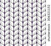 knitting pattern | Shutterstock .eps vector #306321152
