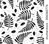 Graphic Pattern With Seeds And...