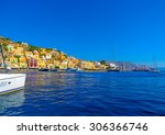 panoramic view of the pictorial ... | Shutterstock . vector #306366746