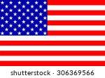 american flag | Shutterstock .eps vector #306369566