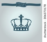 crown icon | Shutterstock .eps vector #306373178