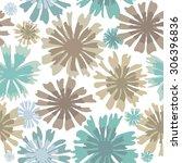 zigzag seamless geometric... | Shutterstock .eps vector #306396836