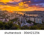 hong kong  china  1 aug 2015... | Shutterstock . vector #306421256
