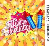 vector festive background for...   Shutterstock .eps vector #306439586