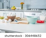 ingredients for baking and... | Shutterstock . vector #306448652