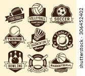 Sport Logotypes Set. Sport...