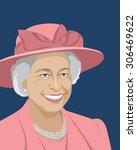 august 16  2015  a vector... | Shutterstock .eps vector #306469622
