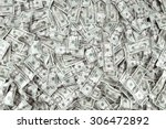 close up view of cash money... | Shutterstock . vector #306472892