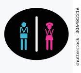 toilet | Shutterstock .eps vector #306482216
