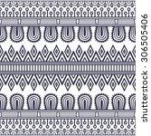 seamless pattern. vintage... | Shutterstock .eps vector #306505406